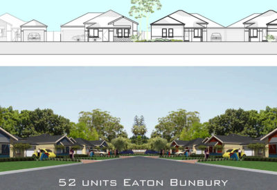 52 Dwellings Eaton Bunbury